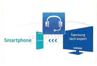 کارشناسان فنی از راه دور گوشی شما را بررسی می کنند