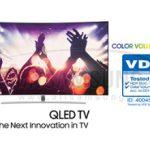 تلویزیون های QLED جدید سامسونگ با قابلیت تولید رنگ با درجه 100 درصدی