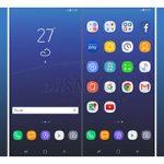 رابط کاربری و آیکون های گوشی سامسونگ گلکسی اس 8 در تصاویری مشخص شد