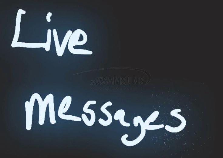 نحوه استفاده از ویژگی Live Messages نوت 8 برای خلق GIF های جذاب
