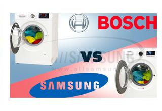 چگونه از میان ماشین های لباسشویی سامسونگ و بوش، انتخاب کنیم؟