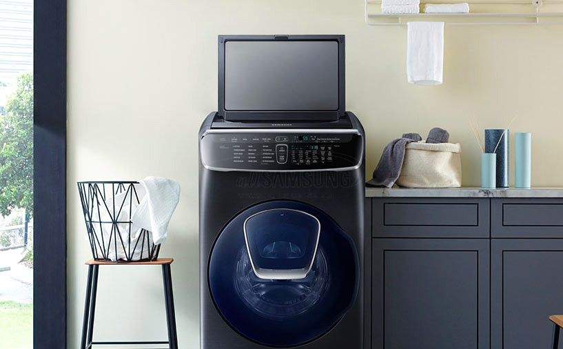 معرفی جدیدترین مدل ماشین لباسشویی سامسونگ با قابلیت های متفاوت در CES 2018