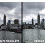 مقایسه دوربین گلکسی اس 9 پلاس و آیفون X