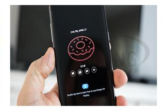 آپدیت Always On Display با پشتیبانی از GIF در گلکسی S8 و گلکسی Note 8