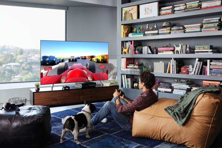 ورود گیمینگ به مرحله ای جدید با نسل جدید تلویزیون های 2018 qled سامسونگ