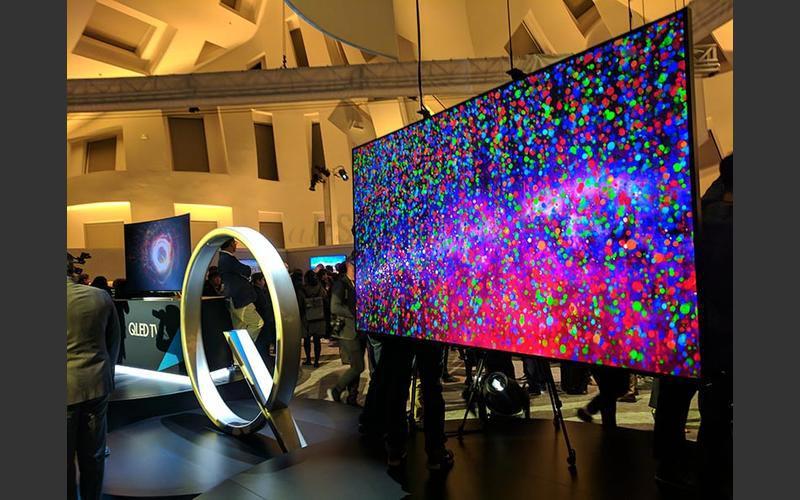دلایل استقبال از تلویزیون های Q9F سامسونگ  با  نمایش بی نظیر رنگ ها و کیفیت  بالا