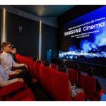 ورود سینما به یک دوره جدید با تلویزیون های LED و 34 فوتی سامسونگ