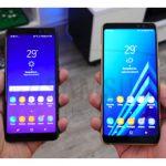 مقایسه مشخصات فنی گوشی گلکسی ای 7 و گلکسی ای 8 پلاس 2018