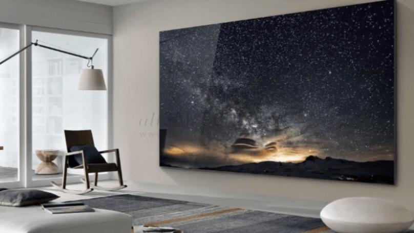 رشد صعودی ابعاد تلویزیون های غول پیکر سامسونگ با ویژگی های جدید و متفاوت