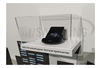 اولین نگاه به گوشی 5G سامسونگ