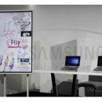 رونمایی از وایتبورد دیجیتال Flip سامسونگ در ایران