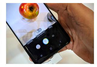 امکان باز کردن دوربین گوشی گلکسی اس 10 با سوئیپ بر روی نمایشگر