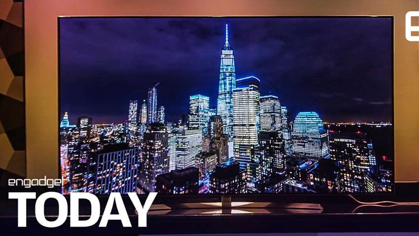 تراشه جدید سامسونگ برای تلویزیون های 8K و حذف لبه ها از این دستگاهها