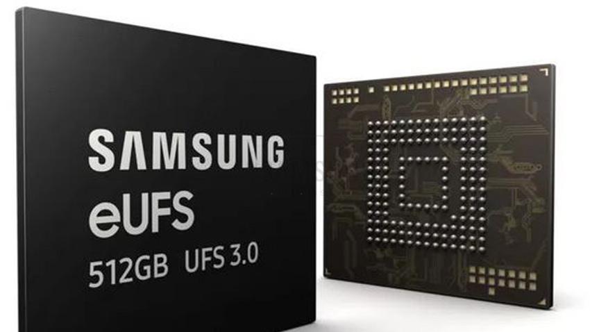 استفاده از حافظه پرسرعت تولید شده توسط سامسونگ در گوشی های تاشو با قابلیت های جدید