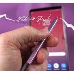 طراحی تکنولوژی صدای داخل صفحه نمایش Note 10 بجای اسپیکر