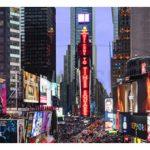 نصب تلویزیون تبلیغاتی LED جدید سامسونگ در مرکز نیویورک