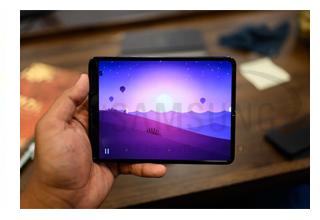 طراحی دوربین زیر صفحه نمایش برای گوشی های 2020 سامسونگ