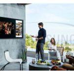 رونمایی از اولین تلویزیون Outdoor 4K QLED سامسونگ