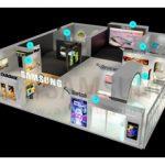 نمایش جدیدترین تکنولوژی های سامسونگ در عرصه دیجیتال ساینیج های 2020