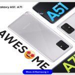 مقایسه گوشی A51 و A71