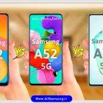 کدام گوشی جدید سامسونگ را انتخاب کنیم؟ گلسی A32 ، A72 یا A52 ؟