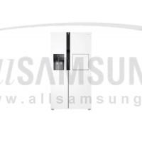 یخچال فریزر ساید بای ساید سامسونگ 25 فوت RS25 سفید Samsung Side By Side RS25 with Home Bar White