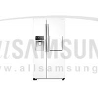 یخچال فریزر ساید بای ساید سامسونگ 34 فوت پلاریس سفید صدفی Samsung Side By Side Polaris White