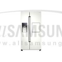 یخچال فریزر ساید بای ساید سامسونگ 30 فوت روسو 2 سفید Samsung Side By Side Rosso2 White