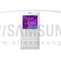 گلکسی نوت 4 سامسونگ اس ویو کاور سفید Samsung Galaxy Note4 S View Cover White
