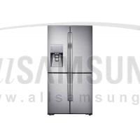 یخچال فریزر ساید بای ساید سامسونگ 34 فوت رومانو استیل Samsung Side By Side Food Showcase Romano Steel