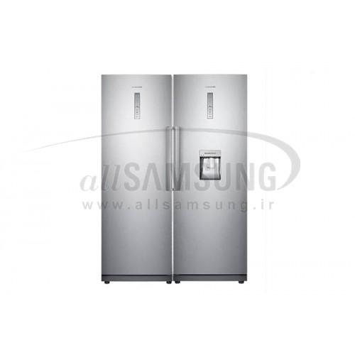 یخچال دوقلو سامسونگ 36 فوت آر آر 19 آر زد 19 نقره ای Samsung Twin RR19RZ19 Silver