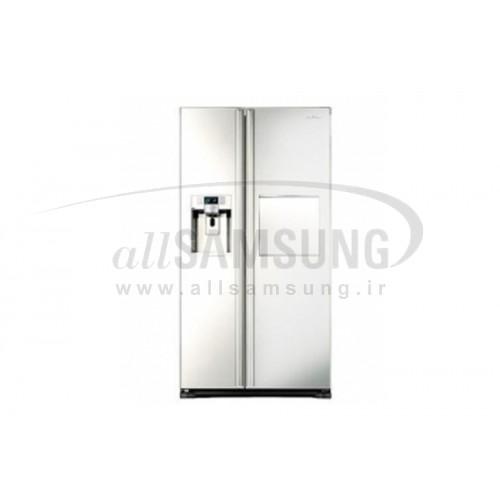 یخچال فریزر ساید بای ساید سامسونگ 27 فوت جی 26 سفید Samsung Side By Side G26 White