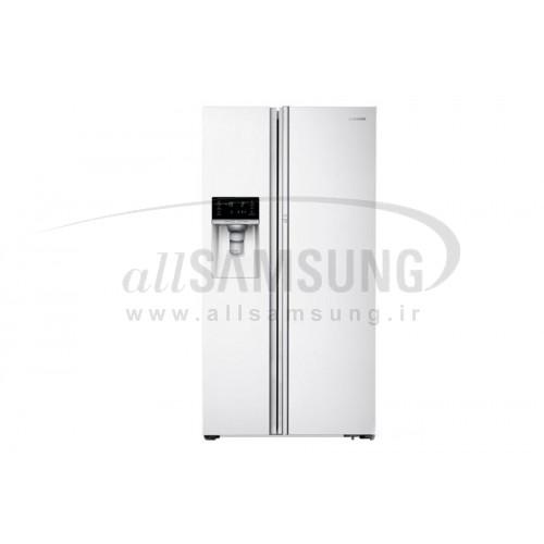 یخچال فریزر ساید بای ساید سامسونگ 34 فوت FSR 14 سفید Samsung Side By Side FSR14 White