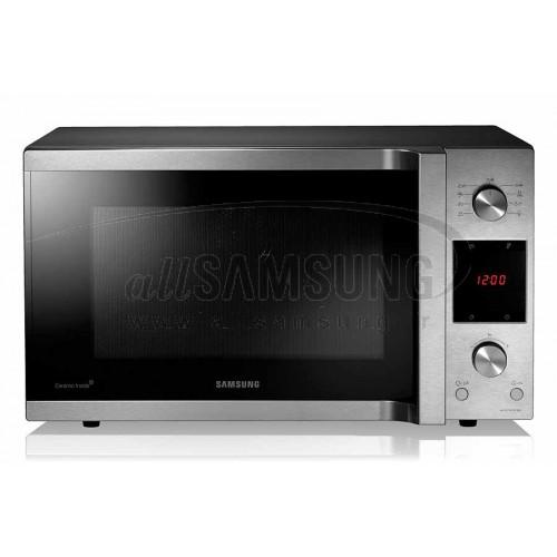مایکروویو سامسونگ 45 لیتری سی ایی 453 استیل با گریل Samsung Microwave CE453 Steel