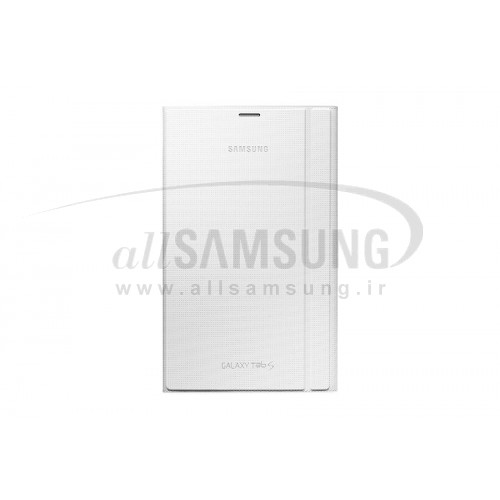 گلکسی تب اس 4-8 سامسونگ بوک کاور سفید Samsung Tab S 8-4 Book Cover White