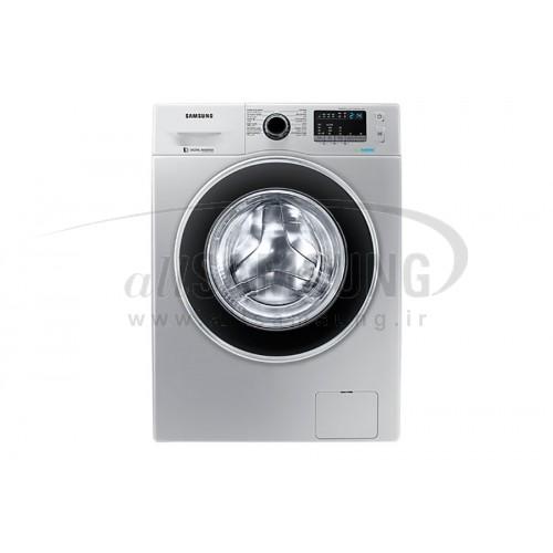 ماشین لباسشویی سامسونگ 6 کیلویی B1242 تسمه ای نقره ای Samsung Washing Machine 6kg B1242 Silver