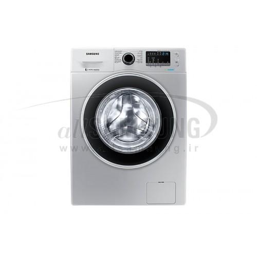 ماشین لباسشویی سامسونگ 7 کیلویی تسمه ای نقره ای دست دوم Samsung Washing Machine 7kg J1466 Silver Second Hand