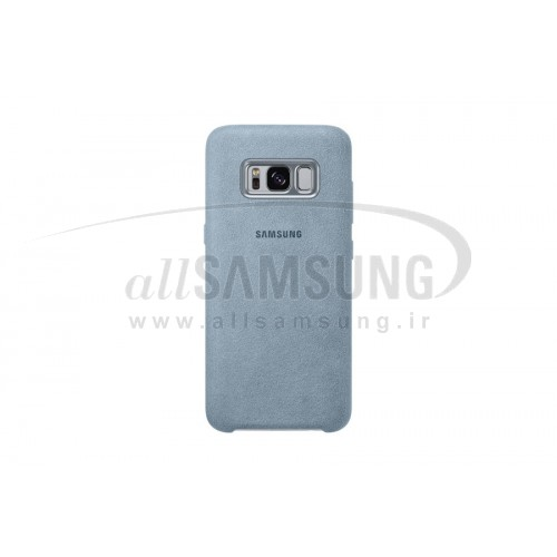 گلکسی اس 8 پلاس سامسونگ آلکانتارا کاور طوسی Samsung Galaxy S8+ Alcantara Cover Mint EF-XG955AS