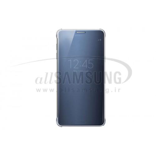 گلکسی نوت 5 سامسونگ کلیر ویو کاور مشکی Samsung Galaxy Note5 Clear View Cover Black