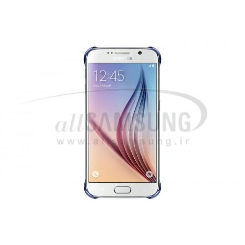 گلکسی اس 6 سامسونگ کلیر کاور مشکی Samsung Galaxy S6 Clear Cover Black