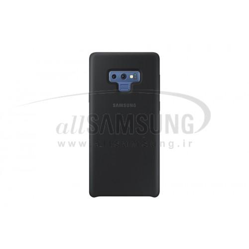 گلکسی نوت 9 سامسونگ سیلیکون کاور مشکی Samsung Galaxy Note9 Silicone Cover Black EF-PN960T