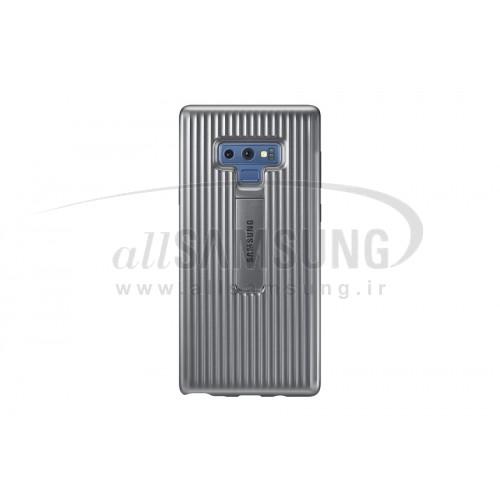 گلکسی نوت 9 سامسونگ پروتکتیو کاور راگد نقره ای Samsung Galaxy Note9 Rugged Protective Cover EF-RN960CS Silver