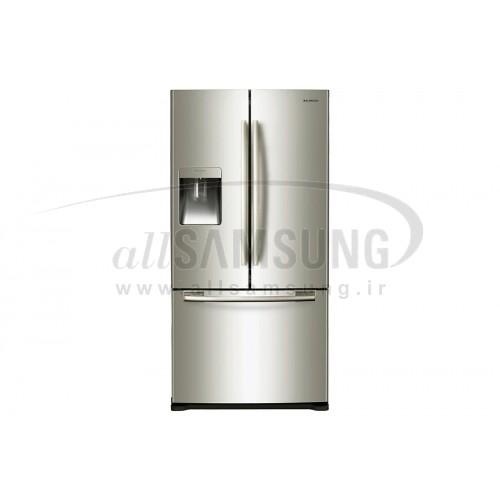 یخچال فریزر درب فرانسوی سامسونگ 27 فوت فرنچ 2 نقره ای Samsung French2 Silver