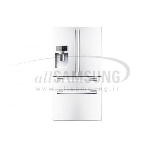 یخچال فریزر درب فرانسوی سامسونگ 30 فوت فرنچ 4 سفید Samsung French4 White