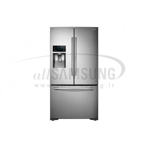 یخچال فریزر درب فرانسوی سامسونگ 30 فوت فرنچ 5 استیل Samsung Fridge Freezer Twin Cooling Plus French5