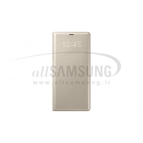 گلکسی نوت 8 سامسونگ ال ای دی ویو کاور طلایی Samsung Galaxy Note8 LED View Cover Gold EF-NN950PF