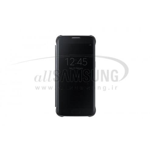 گلکسی اس 7 سامسونگ کلیر ویو کاور مشکی Samsung Galaxy S7 Clear View Cover Black