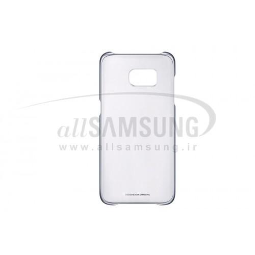 گلکسی اس 7 اج سامسونگ کلیر کاور مشکی Samsung Galaxy S7 edge Clear Cover Black