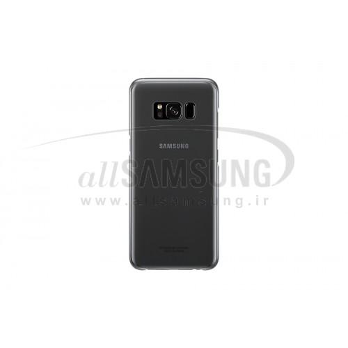 گلکسی اس 8 پلاس سامسونگ کلیر کاور مشکی Samsung Galaxy S8+ Clear Cover Black EF-QG955CB