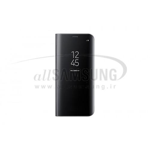 گلکسی اس 8 پلاس سامسونگ کلیر ویو استندینگ کاور مشکی Samsung Galaxy S8+ Clear View Standing Cover Black